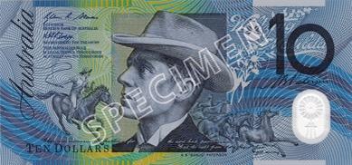 10 Dollar - Recto - Autralie
