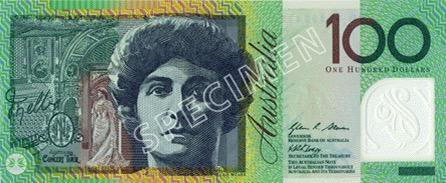 100 Dollar - Recto - Autralie