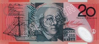 20 Dollar - Recto - Autralie