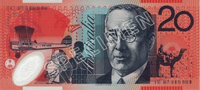 20 Dollar - Verso - Autralie