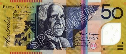 50 Dollar - Recto - Autralie