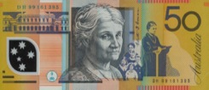 50 Dollar - Verso - Autralie
