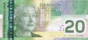 20 Dollar - Recto - Canada
