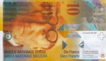 10 Franc - Recto - Suisse