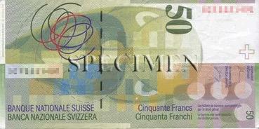 50 Franc - Verso - Suisse