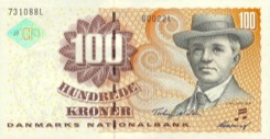 100 Couronne - Recto - Danemark