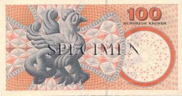 100 Couronne - Verso - Danemark