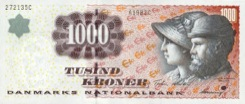 1000 Couronne - Recto - Danemark