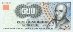 500 Couronne - Recto - Danemark