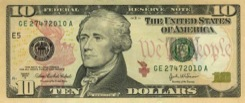 10 Dollars - Recto - Etats Unis