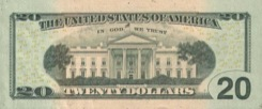 20 Dollars - Verso - Etats Unis